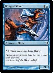 Winged Sliver - Foil on Channel Fireball