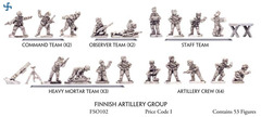 Finnish Artillery Group - Gun, ATG