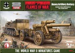 Heavy Artillery Battery - Platoon Box (GBX20)