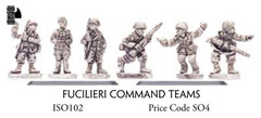 Fucilieri Command Teams