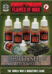 British Paint Set