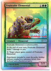 Fruitcake Elemental (2006 Holiday Foil) on Channel Fireball
