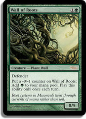Wall of Roots (FNM Foil) on Channel Fireball