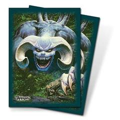 82708 - Ultra PRO Blue Demon Sleeves by Parkinson (50 ct.) on Channel Fireball