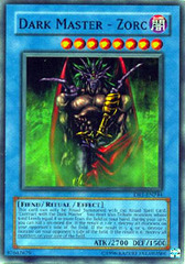 Dark Master - Zorc - DR1-EN244 - Super Rare - Unlimited Edition