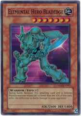 Elemental Hero Bladedge - DR04-EN067 - Super Rare - Unlimited Edition