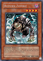 Return Zombie - PP01-EN006 - Secret Rare - Unlimited Edition on Channel Fireball