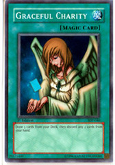 Graceful Charity - SDP-040 - Super Rare - 1st Edition on Channel Fireball