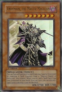 Endymion, the Master Magician - SDSC-EN001 - Ultra Rare - 1st Edition