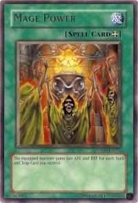 Mage Power - SDSC-EN027 - Common - 1st Edition