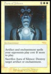 Aura of Silence (FNM Foil) on Channel Fireball