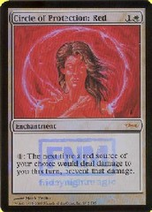 Circle of Protection: Red - (FNM Foil 2005)