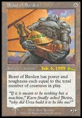 Beast of Burden - Foil - Prerelease Promo
