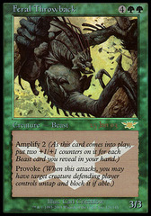 Feral Throwback - Foil - Prerelease Promo