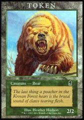 Bear - Token (Odyssey) on Channel Fireball
