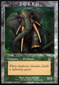 Elephant Token - Odyssey (Player Rewards)