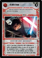 A Jedi's Focus