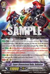 Super Dimensional Robo, Daikaiser TD12/001EN - TD - RRR