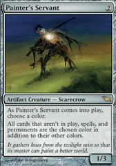 Painter's Servant