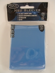 Max Protection Alpha Gloss Small Size Sleeves - Sky Blue - 60ct