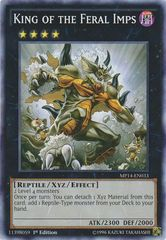 King of the Feral Imps - MP14-EN033 - Common - 1st Edition