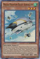 Mecha Phantom Beast Aerosguin - MP14-EN114 - Ultra Rare - 1st Edition