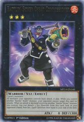 Battlin' Boxer Cheat Commissioner - MP14-EN160 - Rare - 1st Edition