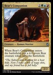 Bear's Companion - Foil