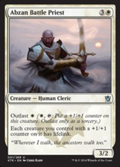 Abzan Battle Priest - Foil