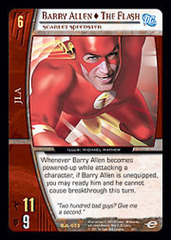 Barry Allen - The Flash, Scarlet Speedster - Foil
