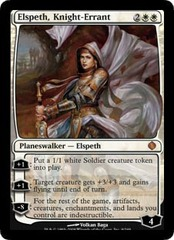 Elspeth, Knight-Errant on Channel Fireball