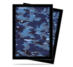 84363 - Ultra PRO Navy Camo Sleeves (50 ct.) on Channel Fireball