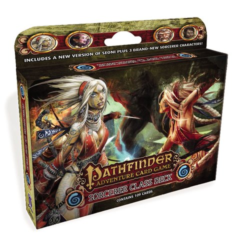 Pathfinder Adventure Card Game: Sorcerer Class Deck