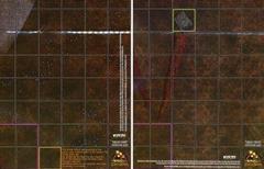 HeroClix: Helm's Deep / Minis Tirith Map # M3 (Common) - Lord of the Rings Ep...