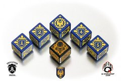 Warmachine Cygnar Faction Dice Set