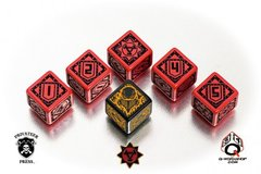 Warmachine Khador Faction Dice Set