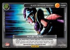 Black Devious Mastery R122 - Foil