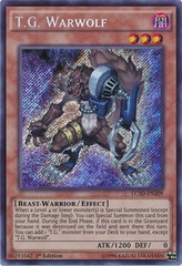 T.G. Warwolf - LC5D-EN209 - Secret Rare - 1st Edition