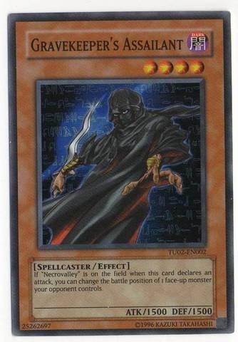 Gravekeeper's Assailant - TU02-EN002 - Super Rare - Promo Edition