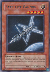 Satellite Cannon - TU01-EN007 - Rare - Promo Edition on Channel Fireball