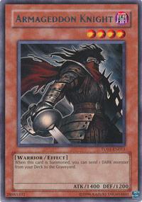 Armageddon Knight - TU01-EN011 - Rare - Promo Edition