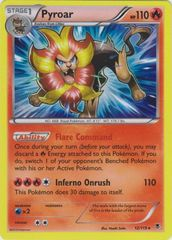 Pyroar - 12/119 - Rare Holo