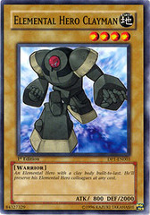 Elemental Hero Clayman - DP1-EN003 - Common - 1st Edition