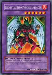 Elemental Hero Phoenix Enforcer - DP05-EN012 - Rare - 1st Edition on Channel Fireball