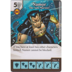 Namor - The Sub-Mariner (Die  & Card Combo)