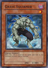 Grave Squirmer - DP07-EN008 - Super Rare - 1st Edition on Channel Fireball