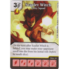 Scarlet Witch - Unity Squad (Die  & Card Combo)