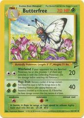 Butterfree - 34/130 - Uncommon - Unlimited Edition
