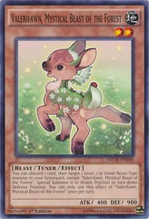 Valerifawn, Mystical Beast of the Forest - NECH-EN038 - Common - 1st Edition
