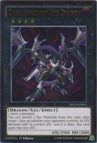 Dark Rebellion Xyz Dragon - NECH-EN053 - Ultimate Rare - 1st Edition